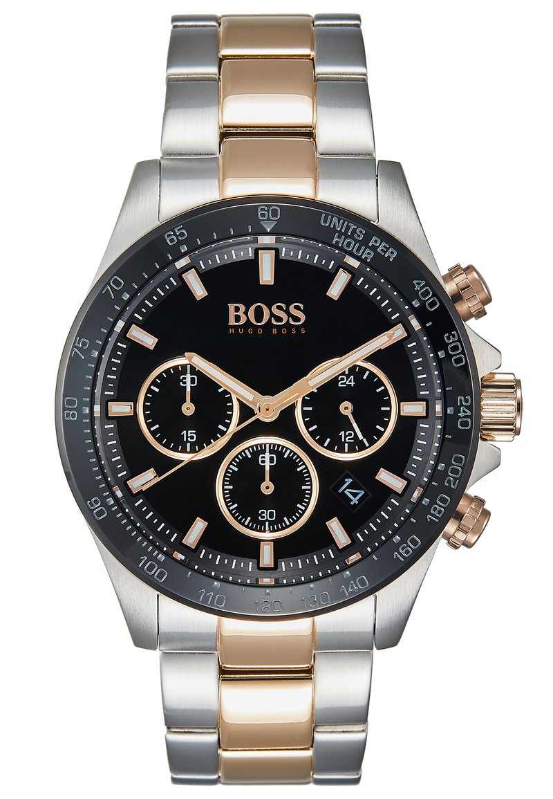 BOSS - Chronograph watch - silver-coloured