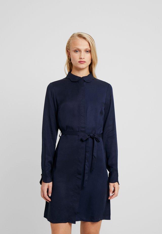 PERI DRESS - Shirt dress - black iris