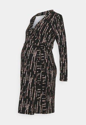 DRESS SACRAMENTO - Žerzejové šaty - black