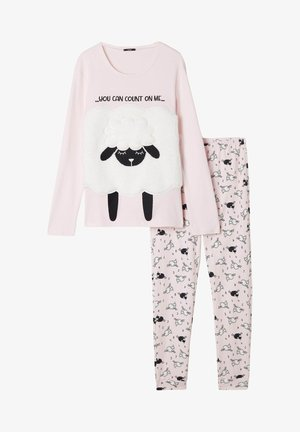 Pyjama set - rosa cloud pink sheep print