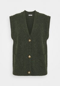 Lovechild - VESPA WAISTCOAT - Cardigan - combu green - 4
