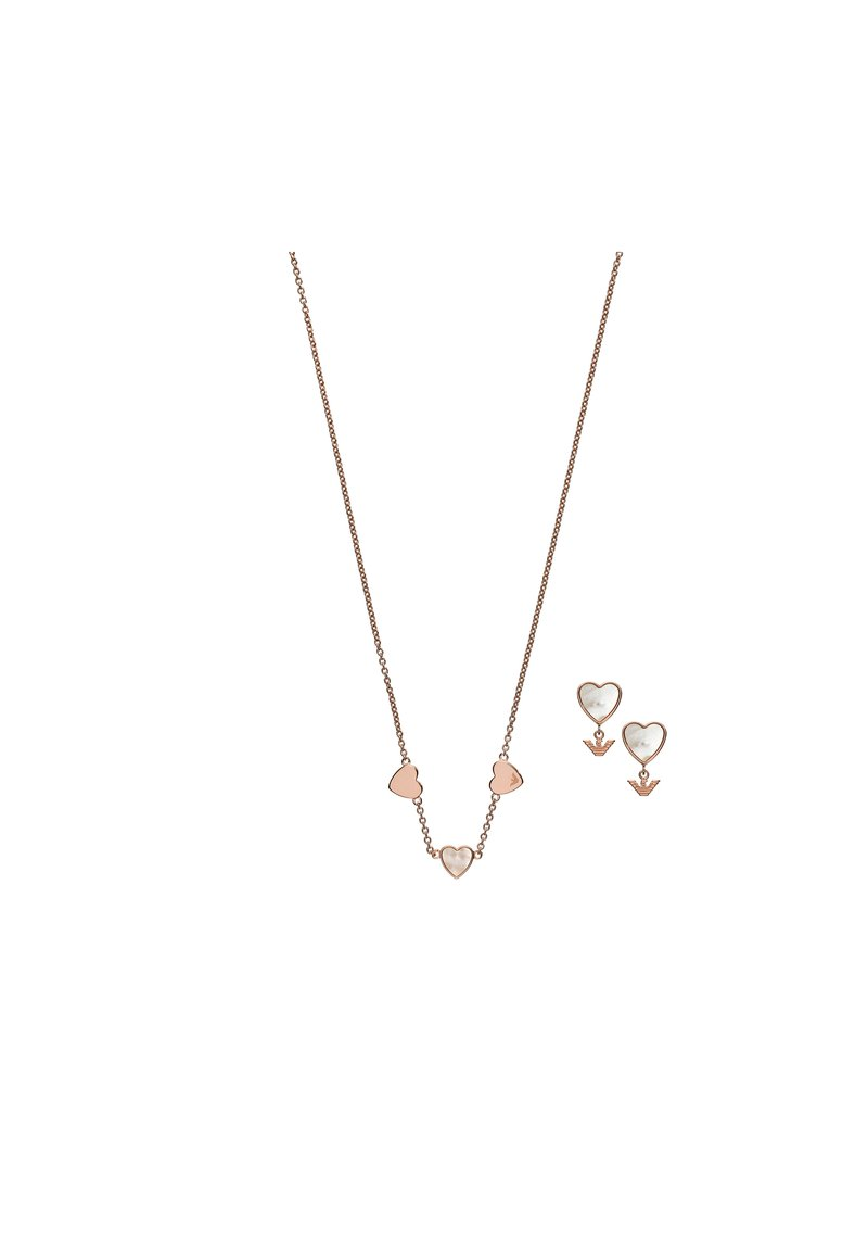 Emporio Armani - Earrings - rose gold