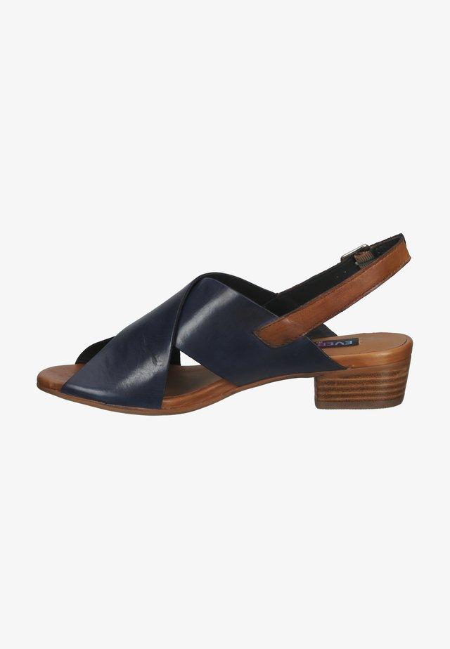 Sandaler - spoletto blu/ vegetale cuoio