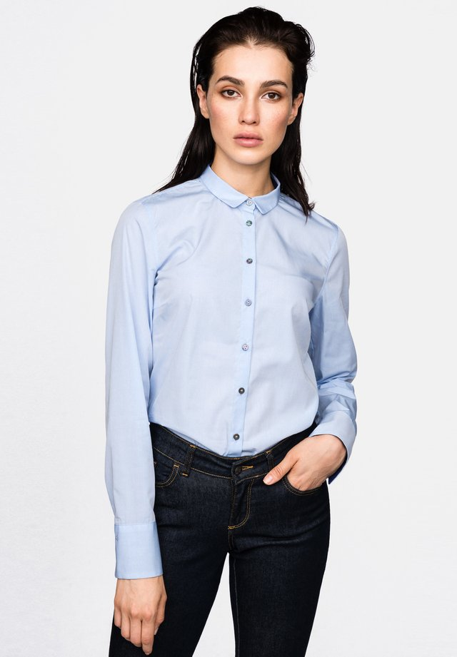 DANIA  - Button-down blouse - light blue