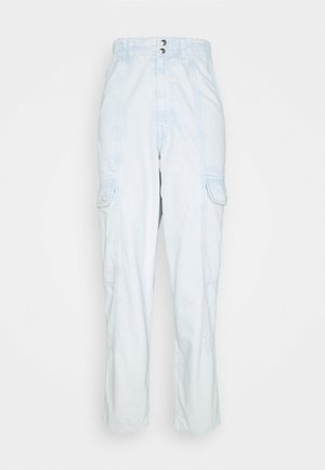 BLAINE - Relaxed fit jeans - bleach wash