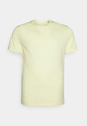 ESSENTIAL CREW NECK TEE - T-shirt basic - lemon