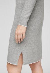 s.Oliver - Jumper dress - grey melange - 4