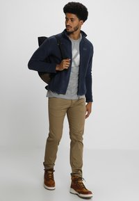 Jack Wolfskin - MOONRISE JACKET MEN - Fleecová bunda - night blue