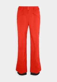 O'Neill - HAMMER SLIM PANTS - Zimní kalhoty - fiery red - 3