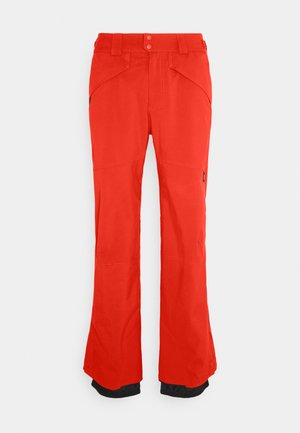 HAMMER SLIM PANTS - Snow pants - fiery red