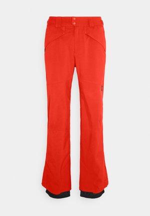 HAMMER SLIM PANTS - Skibukser - fiery red