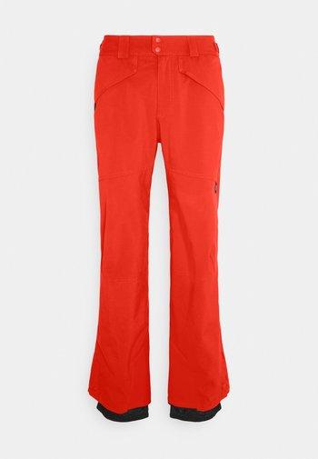 HAMMER SLIM PANTS - Snow pants - fiery red