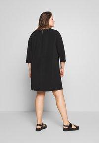 Zizzi - MLILA DRESS - Paitamekko - black - 2
