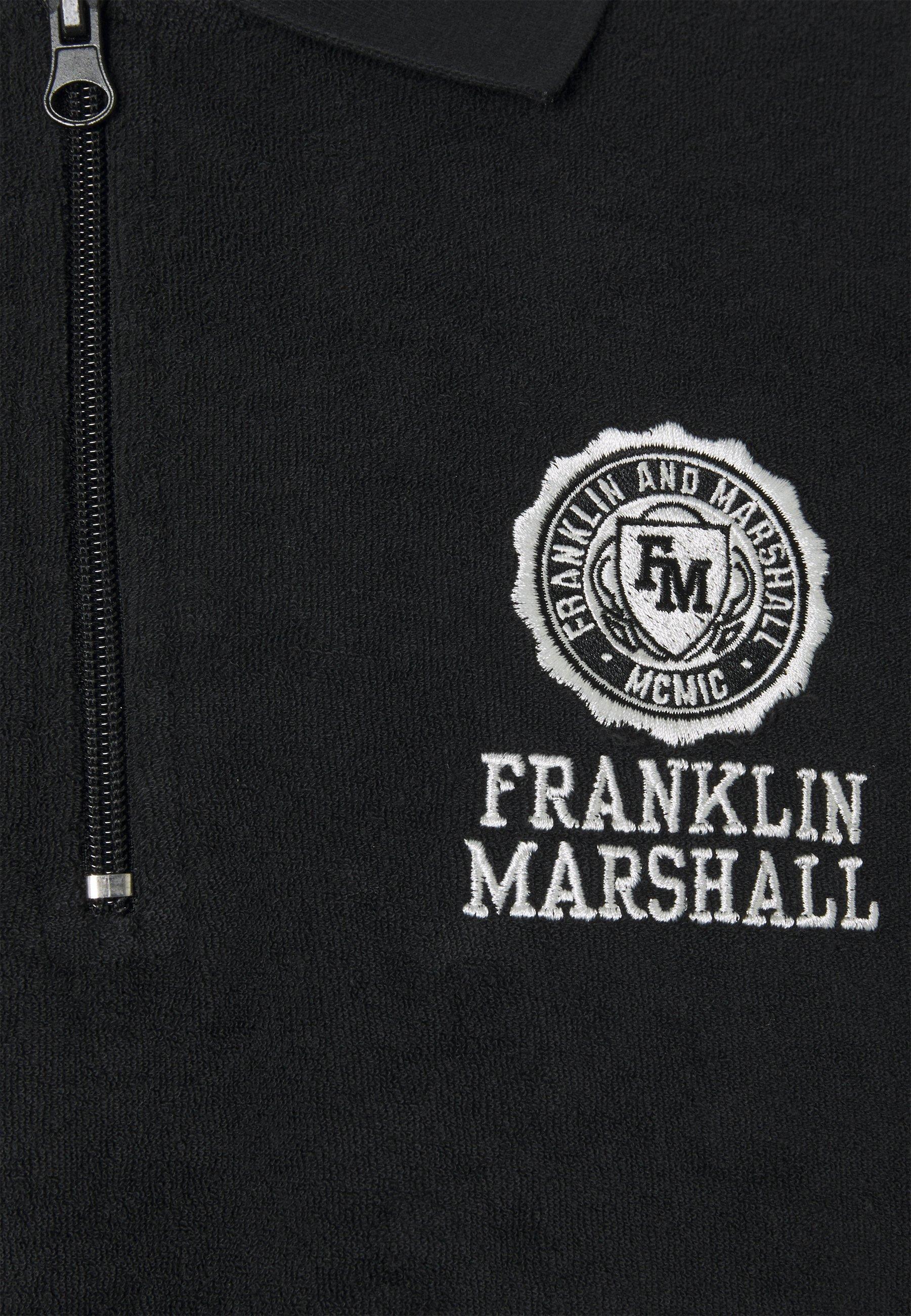 Franklin & Marshall Polo shirt - black ivM54