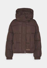 Sixth June - SHORT PUFFER JACKET HOOD - Winter jacket - brown - 6