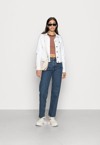 ONLY - ONLTIA JACKET - Giacca di jeans - white - 1