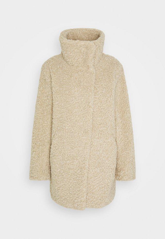 JACKET - Classic coat - cream beige