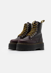 Dr. Martens - JADON MAX - Platform ankle boots - oxblood - 2
