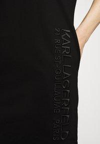 KARL LAGERFELD - ADDRESS DRESS - Vestido ligero - black - 5