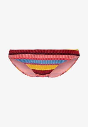 BAJA STRIPE HIPSTER - Bikini bottoms - saffron