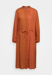 DACHA - Shirt dress - tan/pink