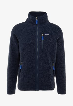 RETRO PILE - Fleece jacket - neo navy