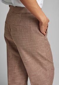 Nümph - Trousers - leather brown - 3