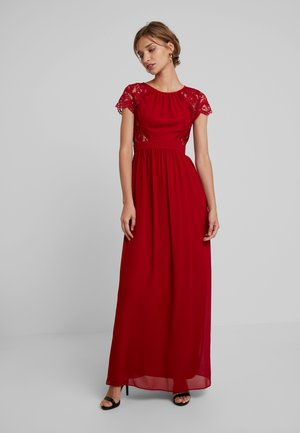 PEARLY MAXI - Occasion wear - burgundy