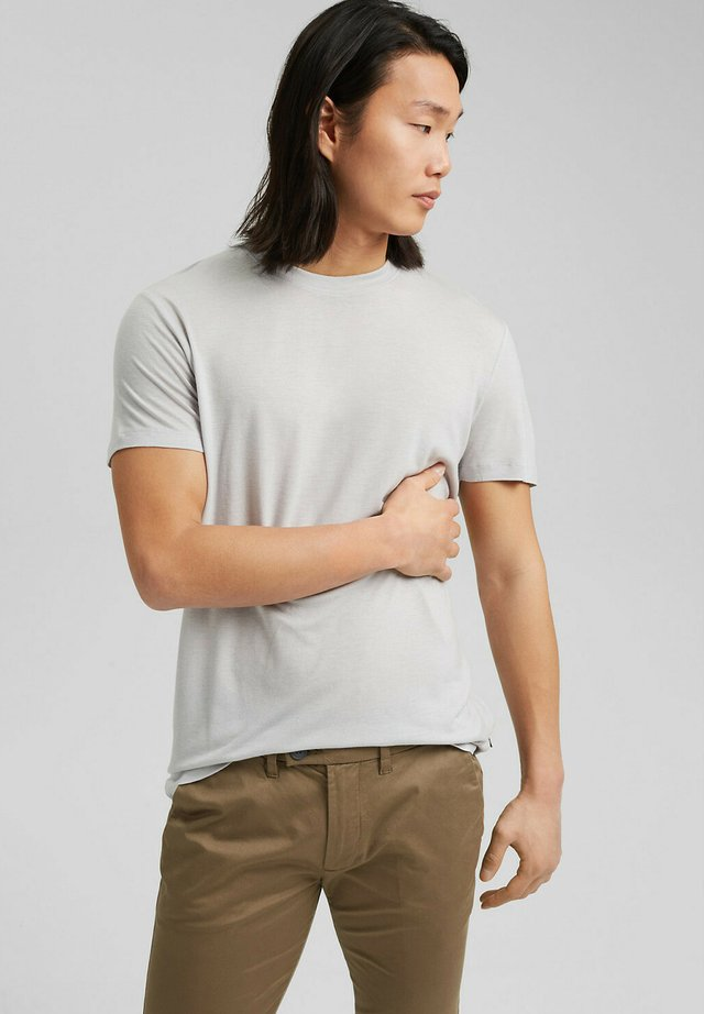 T-shirts basic - light grey