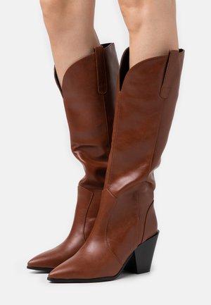 PERLA - Boots - tan