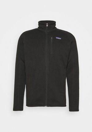 BETTER SWEATER - Fleece jacket - black