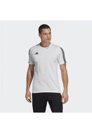 TIRO 19 TEE - T-shirt - bas - white