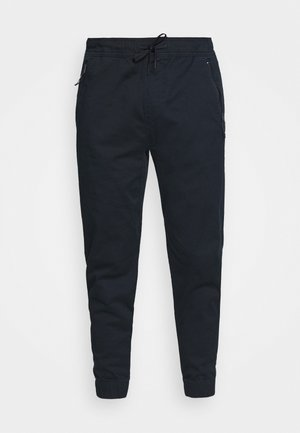 TAPER - Trousers - navy