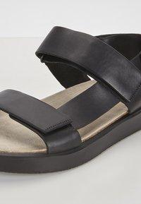 ECCO - CORKSPHERE  - Sandals - black - 8