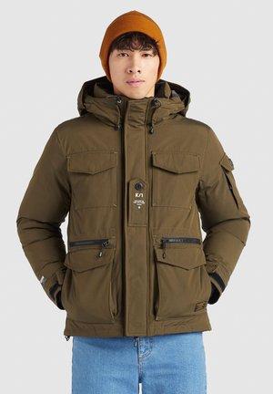 PANK - Winter jacket - oliv