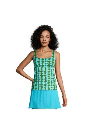 Bikinitop - chive-turquoise tie dye (522608-0d5)
