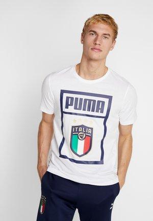 ITALIEN FIGC PUMA DNA TEE - Sports shirt - white
