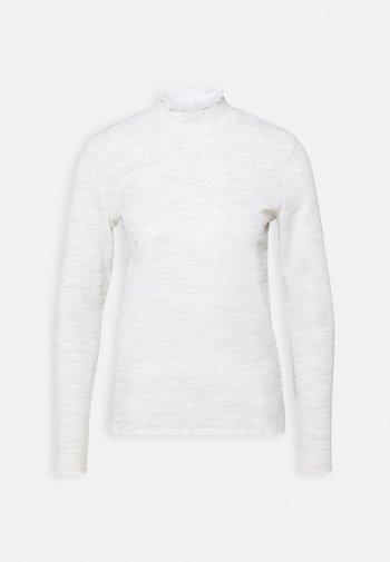 SASKUNA - T-shirt à manches longues - hazy fog melange