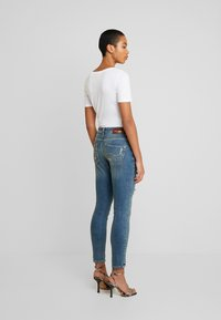 Mos Mosh - BRADFORD WORKED - Jeans Skinny Fit - blue denim - 2