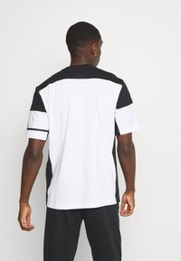 adidas Performance - ZNE TEE - Print T-shirt - white/black