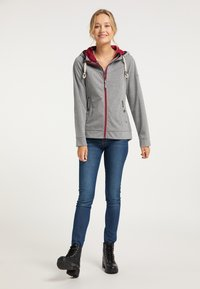 Schmuddelwedda - Zip-up hoodie - grau melange - 1