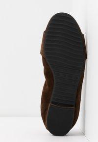 Kennel + Schmenger - MALU - Ballet pumps - cocoa/black - 6