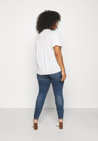 Simply Be - PUFF SLEEVE - Blouse - ivory - 2