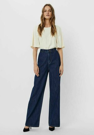 VMKATHY  - Jeans a zampa - dark blue denim