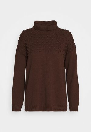 SABLE JUMPER - Svetr - shaved chocolate