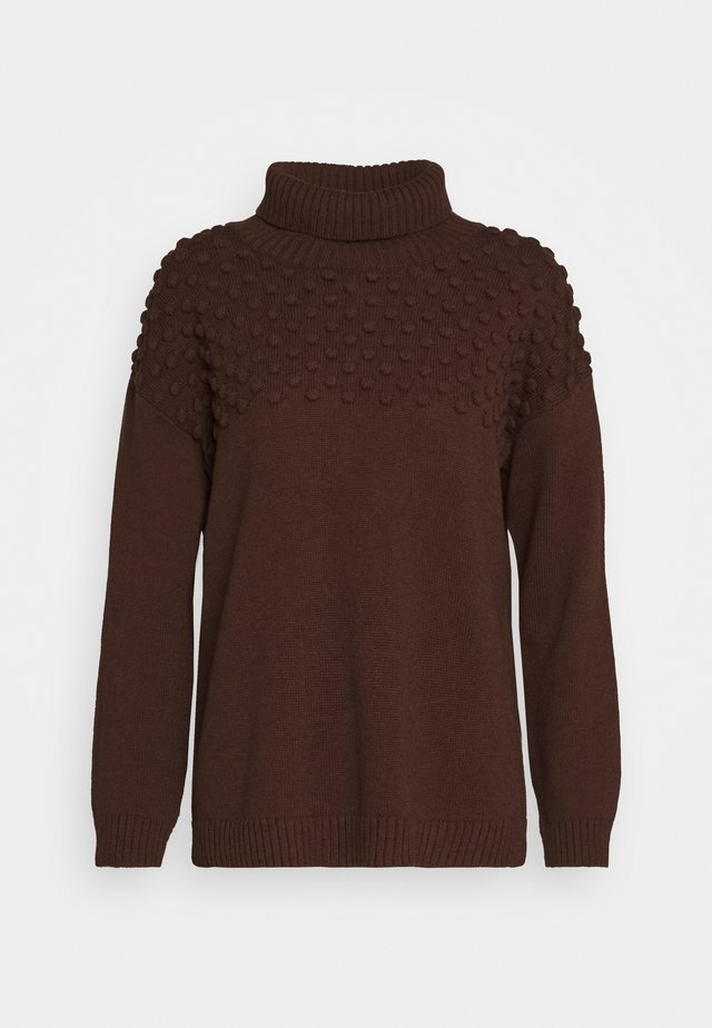 SABLE JUMPER - Trui - shaved chocolate