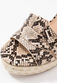 Steve Madden - SIVIAN - High heeled sandals - beige - 2
