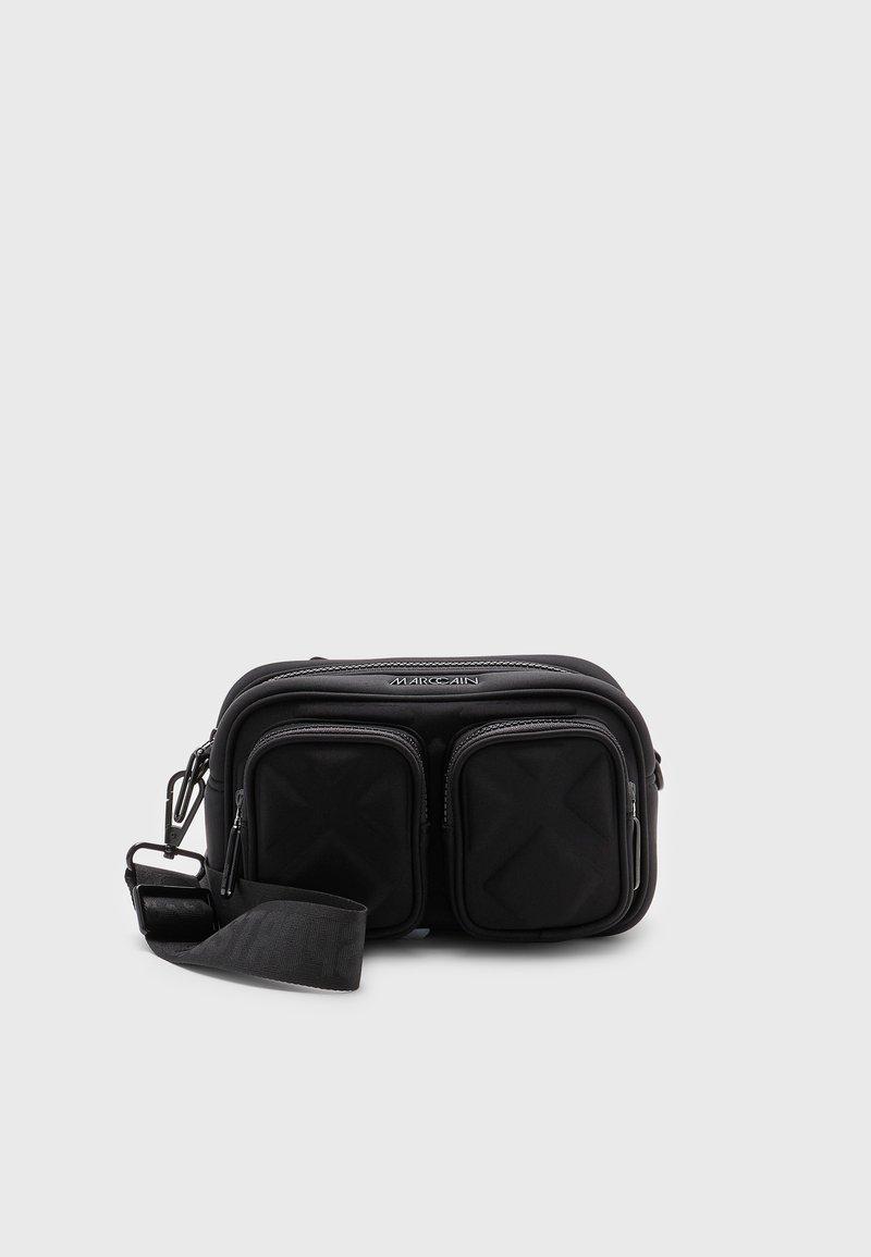 Marc Cain - SHOULDER BAG - Across body bag - black