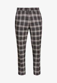 Burton Menswear London - CHECK - Kalhoty - black - 3