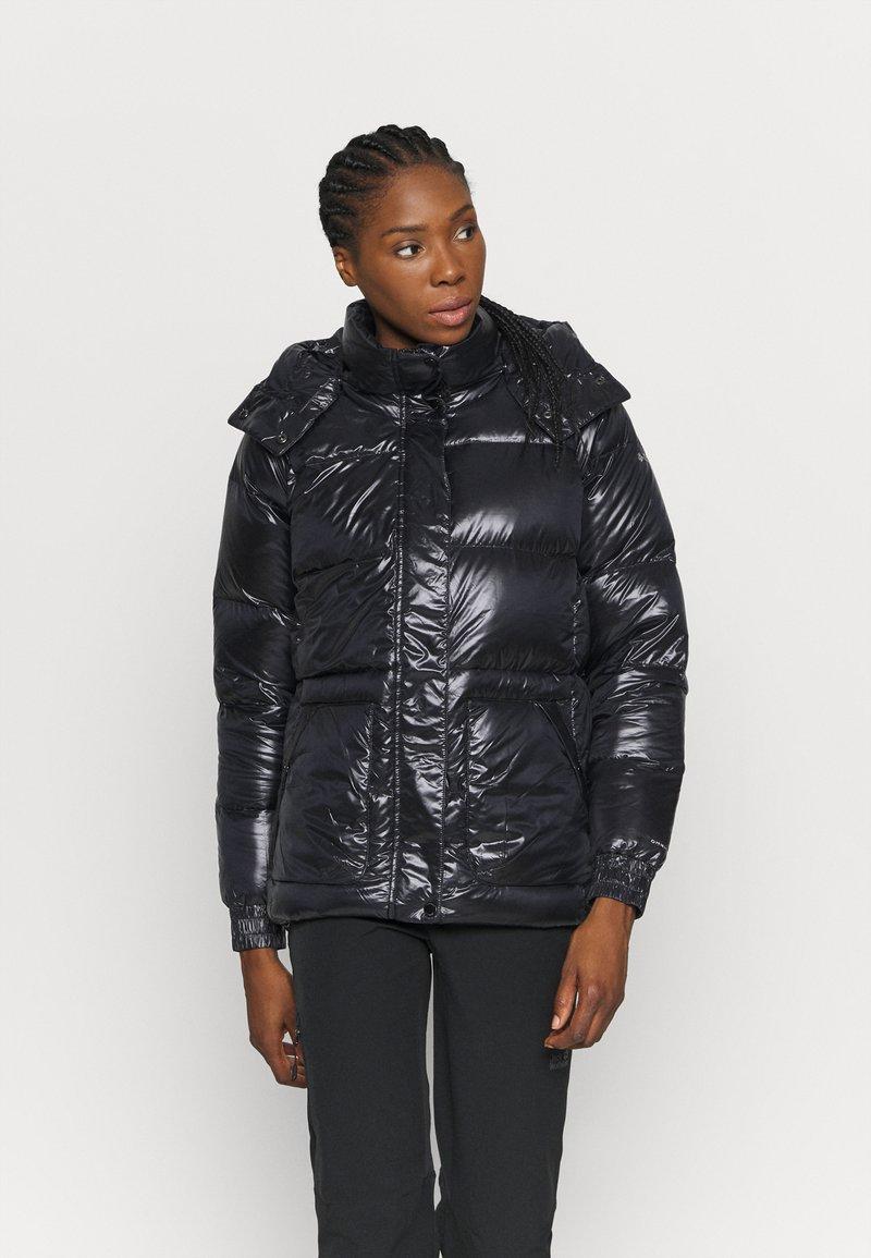 Columbia - NORTHERN GORGE JACKET - Down jacket - black